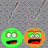 Green and Orange A Free Action Game