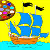 Boat Super Coloring