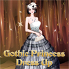 Show your styling skills by helping our gothic princess look at her best in this dress up game. You will have loads of dresses, accessories and other clothes to choose from and help her dress up for the following big party.