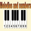 Press on your key numbers and play melody.
