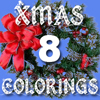 XMAS 8 Colorings A Free Customize Game