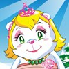 Dress up the polar bear princess in her cold environment she needs warm outfits to get ready for winter!