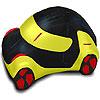 Round concept car coloring