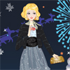 New Year Party Girl Dress Up