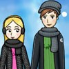 Winter Lovebirds A Free Dress-Up Game