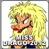 Teach Drago to color the picture of Miss Drago-2012.
