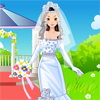 This beautiful girl needs a talented wedding stylist to help her get ready for the most beautiful day in her life. You think you would be perfect for this job? Then, prove it in this cool dress up game! Help the girl prepare for her wedding by dressing her up with the most elegant gown you can find, do her hair and don`t forget she also needs some stylish accessories. Enjoy!