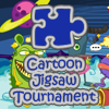 Take puzzle playing to a whole new level. Cartoon jigsaw tournament offers 12 high quality family friendly jigsaw puzzles in a cool new tournament format. Are you the best jigsaw player?