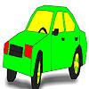 Strange car coloring Game.