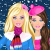 Barbie Winter 2 A Free Dress-Up Game