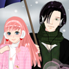 Anime winter couple dress up game A Free Dress-Up Game