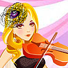 Violin Girl A Free Customize Game