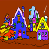 quaint village coloring games