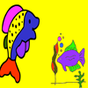 Fish Coloring Games  2