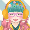 Kawaii chubby girl dress up game