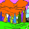 Forest Coloring Game