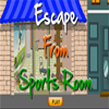 Escape From Sports Room A Free Action Game