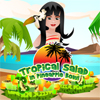 Tropical Salad in Pineapple Bowl A Free Education Game