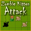 Zombie Kitten Attack A Free Puzzles Game