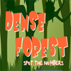 Dense Forest - Spot the Numbers A Free Action Game