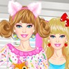 Barbie Pajama Party A Free Dress-Up Game