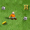 Dutch version of SoccoFobia. Run across the field, avoid the balls and collect letters and powerups. This version has some small changes like other outfits and a larger playing field. It`s also a tad quicker then the previous version. It`s in Dutch, but still playable.