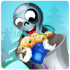Zombie Launcher Winter Season A Free Puzzles Game