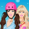 Barbie on Rollers A Free Dress-Up Game