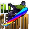 Downhill Snowboarding A Free Action Game