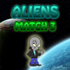 Aliens Match 3 A Free Puzzles Game