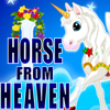 Make the horse from heaven by selecting wings, horn, tail, belt,  chain, and cover.