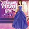 Elegant Prom Girl Dress Up