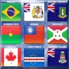 World Flag Memory-3 A Free Action Game