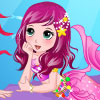 Pretty Little Mermaid And Her Mom A Free Dress-Up Game