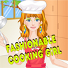 Fashionable Cooking Girl Dress Up A Free Customize Game
