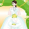 Heidi bride dress up