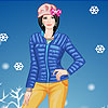 Walking in snow dress up