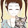 Shoujo manga avatar creator:Pets A Free Dress-Up Game