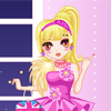 Pink Party Dress Up A Free Dress-Up Game