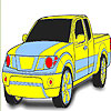 Big truck coloring