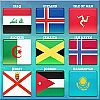 World Flag Memory-8 A Free Education Game