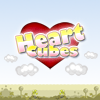 Heart Cubes is match three puzzler - match colours to clear the board. Create powerups with continous colour matches and use them start a chain reaction for massive scores.