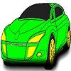 Superb hot car coloring Game.