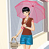 Angie rainy day dress up A Free Dress-Up Game