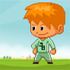 Bieber cannot go down alone from the stack of blocks, help Bieber to land safely by removing the block below him!!!
