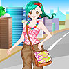 Vanessa on the road dress up A Free Dress-Up Game
