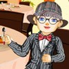 High Class in a High Chair A Free Dress-Up Game