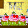 Do you want to learn how to bake some delicious cupcakes? Here is a game in which you will find some tips, and all the instructions you need to follow if you want to prepare a pan of cupcakes. Make sure you do as the instructions tells you, combine the ingredients in the right order, bake the cupcakes and decorate them with sweet cream and fruits. Enjoy!