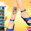 beauty foot(Winter Edition) A Free Dress-Up Game