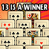 13 IS A WINNER! A Free Puzzles Game